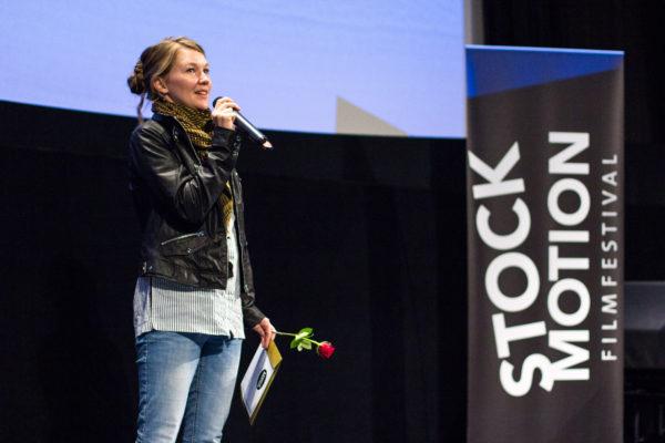 Ida Lindgren vinnare Stockmotion Foto: Mikael Ström/Film Stockholm