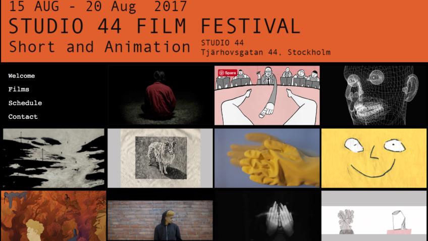 studio 44 film festival